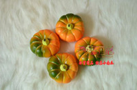 Wholesale High Simulation Plastic Pumpkin Artificial vegetable home garden Decor