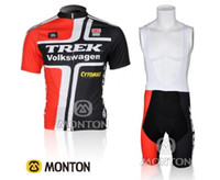 Wholesale Trek Volkswagen Cycling Jersey And Bib Shorts