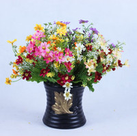 Wholesale stem Wild chrysanthemum Silk flowers Artificial Flowers dry flowers imitation flower