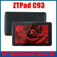 Wholesale Android C93 Dual Core Tablet PC bluetooth inch Zenithink Cortex A9 GB GHz WiFi hdmi Skype Laptop