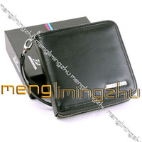 Wholesale Real Leather DVD CD Disc Storage Case Carry Holder Sleeve Black D002