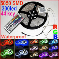remote controller - 10m Waterproof SMD RGB LED Strip light m led m key IR Remote controller