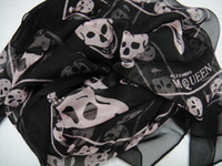 Wholesale 50pcs New Arrival Fashion Skull Scarves Shawls Xmas Gift Best Selling Mix Order