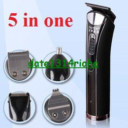 Wholesale Paiter hair trimmer in baby hair trimmer clipper barber tools adult shaver nose rechargeable wat