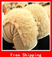 Wholesale Household Cold Thermal Supplies Knee Shin Guard Wool Cashmere Kneepad Plush Kneepad