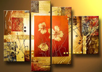 Cheap More Panel Oil painting Best Oil Painting Abstract Classical Group Painting