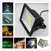 Wholesale Huge Discount W LED Floodlight Outdoor Flood Light Projection Lamp Warm White V Lm IP66