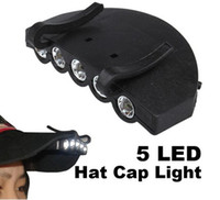 Wholesale Hat Cap Hands Free LED Outdoor Camping Hunting Fishing Light Flashlight