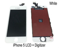 For Apple iPhone LCD Screen Panels  Complete Full Front LCD Display Touch Digitizer Screen Assembly Replacement For iphone 5 5G 5th