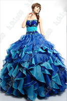 best quinceanera - Free Jacket Best selling New Sweetheart Strapless Applique Organza Quinceanera Dresses Bridal Gown
