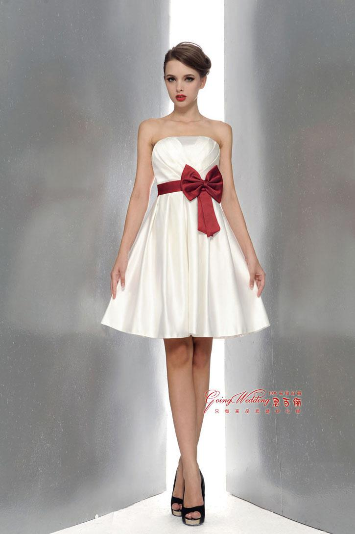 Satin dress bow fashion dresses satin dress bow ombrellifo Images