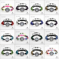 Wholesale Christmas Shamballa Watches Bracelet DIY Crystal Beads Circle Watch