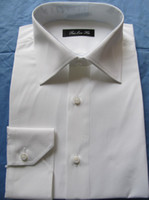 Wholesale Custom MADE TO MEASURE SLIM FIT DRESS SHIRTS BESPOKE CLASSIC WHITE COTTON MEN SHIRTS CUSTOMIZED SHIRTS FOR WEDDING GROOMS