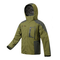 Wholesale worede men s outdoor jacket in1 fleece double layers waterproof jacket wrdj004