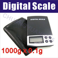 Wholesale 5pcs NEW1000g x g Digital Pocket Scale Jewelry Weight Scale kg g digital scale