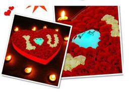 Wholesale new arrival love soap rose heart led heart good Christmas gift