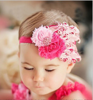 Wholesale baby headbands flower hair band girls hair tie cute head band feather hair pins baby gift ZK10