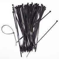 Wholesale 1000pcs self locking Nylon cable ties Bundling belt buckle line