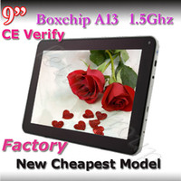 9 inch Single Core Android 4.1 Cheapest 9 Inch Allwinner A13 supper slim External 3G with wifi 512MB ddr3 and 8G 800 x 480 Capacitive tablet pc