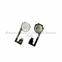 Wholesale Home Button Flex Cable home button keypad For Apple iPhone S