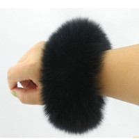 Wholesale Hot new genuine luxury fashion quality fur cuff fox fur cuff fur fur cuff Gift top sale free shiping