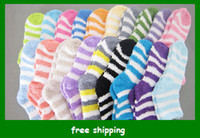 Wholesale Popular Terry towel sock Thick warm socks floor kids adults styles Christmas gifts