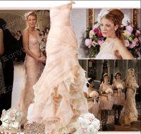 Sheath/Column gossip girl - Gossip Girl Dresses Sexy One Shoulder Flower Bow Organza Sheath Blair Celebrity Dresses