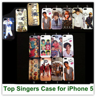 Wholesale Pop Stars One Direction Justin bieber Gangnam Style Uncle Hard Case for iPhone Free