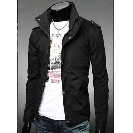 Men's Coat Jacket Spring And Autumn Jacket Slim Casual Jacket Mens ...