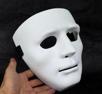 al por mayor máscara jabbawockeez mejor-Mejores 10pcs máscara Vender danza de máscaras Máscara blanca paso Jabbawockeez baile hip-hop / lot