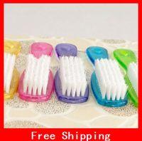 Wholesale Hot Colorful Plastic Clean Shoe Brush Crystal Wash Brush Clothing Brush Shoe Brush