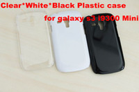 Wholesale cheap Crystal Clear Hard Case Snap On Cover for Samsung Galaxy S3 III i9300 mini