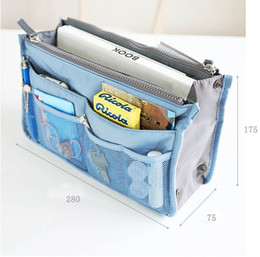 Wholesale Pouch Bag Tote Bag Korea Design Bag In Bag New Organization Nylon color pc By D1