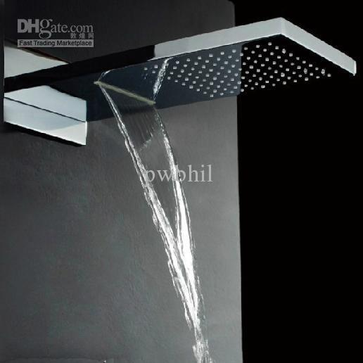 2017 Waterfall Shower Head With Dual Rain And Waterfall Shower Head From Pwbh