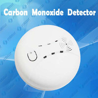 Wholesale CO Carbon Monoxide Detector Home Safety Gas Fire Poisoning Warning Alarm Work with V Battery