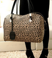 Wholesale Hot Seller New Designer Fashion Lady Shoulder Bag Women Boston Handbag PU Leather Leopard Chain Winter Autumn Spring