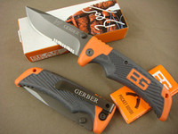 Wholesale Gerber Bear Grylls Survival Knife Survival Series Scout knife Half Serrated Blade Pocket Knife