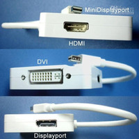 DVI Cable apple dvi adapter - For Apple Apples Mini DisplayPort to HDMI DVI DisplayPort Adapter