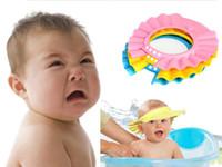 Shower Caps children shower cap - Adjustable Preschool Shampoo Cap Child Shower Caps Baby Visor