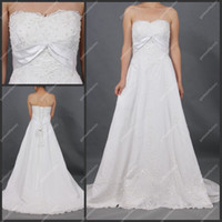 Strapless dresses shop - Suzhou Designer Wedding Dress Hot Sales A line High Waist Lace Overlay Bridal Gown Online Shop
