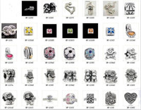 Wholesale New listed Silver beads charm for pandora PO
