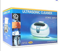 Wholesale Ultrasonic Cleaner CD GEM tools CD DVD Glass Jewelly ml
