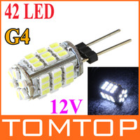 Wholesale G4 SMD leds White LED Light lamp Home Reading Car Marine Boat Bulb bright spotlight V H9073
