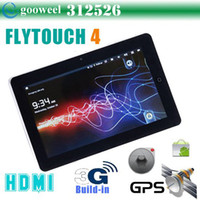 Wholesale Freeshipping Flytouch tablet inch built in G surport phone calls with GPS Android HDMI Inf