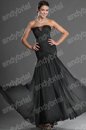 Wholesale Charming Gowns For Ladies Design Straples Mermaid Evening Party Dresses Formal Actual Images DH