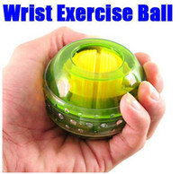 Wholesale Hot Gyro Wrist Arm Muscle Force Power Exercise Strengthen Massage Ball Trainer