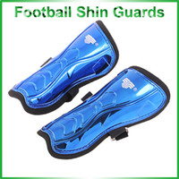 Wholesale High Quality Football Shin Guards Blue