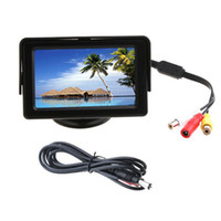 Wholesale 4 quot Wireless LCD Monitor Car Rear View Security Parking Reversing Camera System