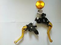 Wholesale Brake Clutch Master Cylinder Set Kit Reservoir Lever Universal quot Handlebar G2