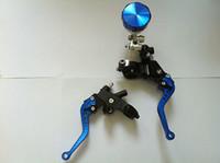 Wholesale Brake Clutch Master Cylinder Set Kit Reservoir Lever Universal quot Handlebar B2